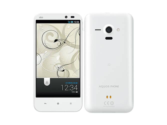 AQUOS PHONE SERIE SHL22 SHARP au の買取価格