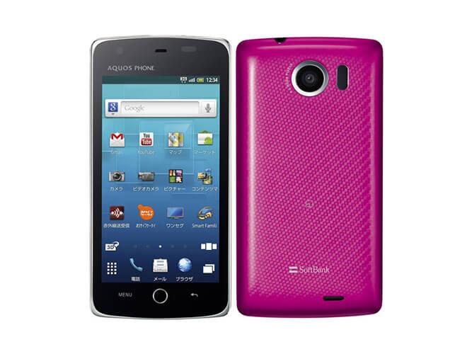 AQUOS PHONE THE PREMIUM 009SH SHARP SoftBank の買取価格