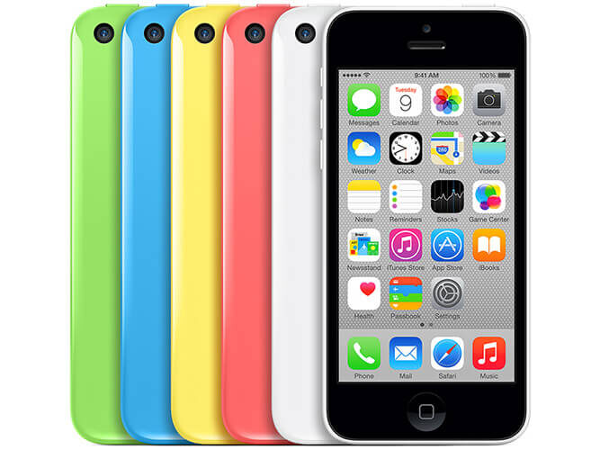 Apple iPhone5c Softbank の買取価格
