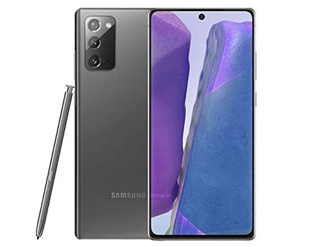 Galaxy Note20 5G DualSIM SM-N9810 Snapdoragon865+ SAMSUNG の買取価格