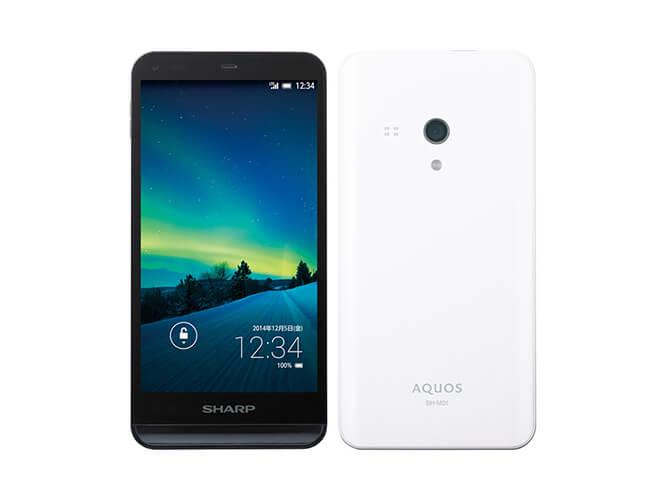 SHARP AQUOS SH-M01 の買取価格