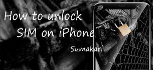 SIM ロック解除申込後の端末設定方法 iPhone 編